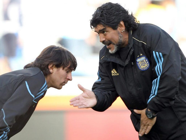 Instructions to Messi, 2010