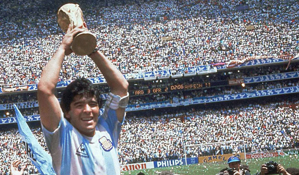 Maradona and the World Cup, 1986