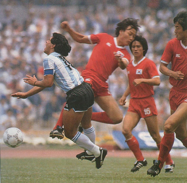 Versus South Korea World Cup 1986