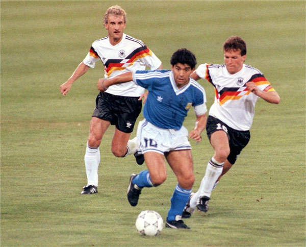 World Cup 1990 Final Versus Germany