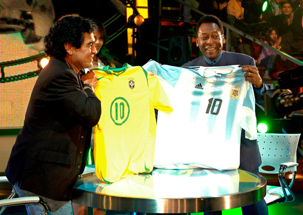 With Pele