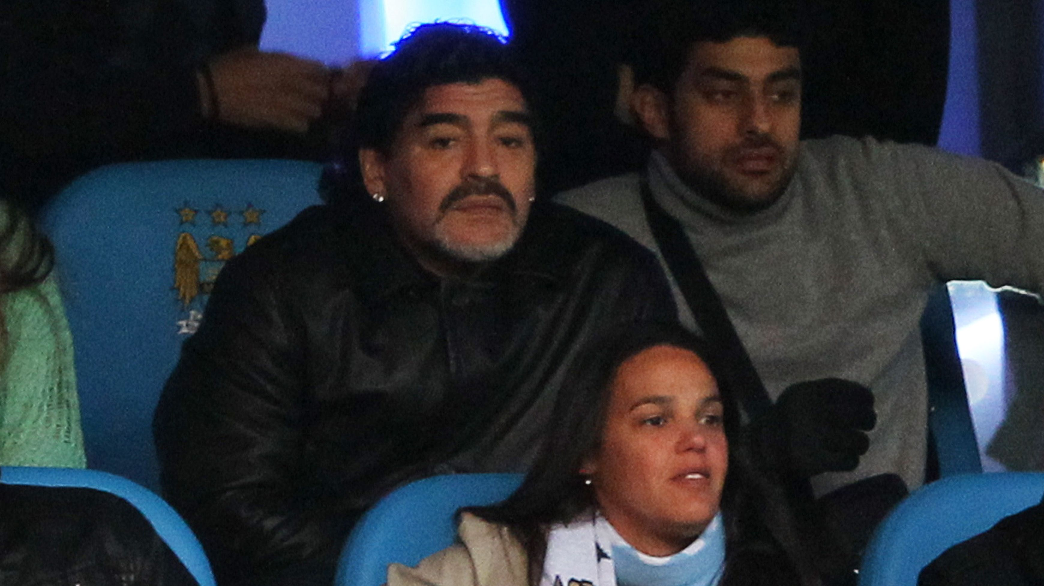 En el estadio del Manchester City