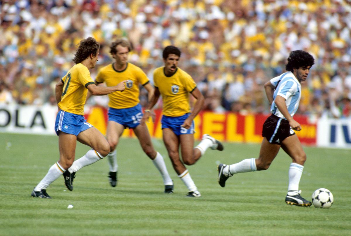 Match vs. Brazil, World Cup 1982
