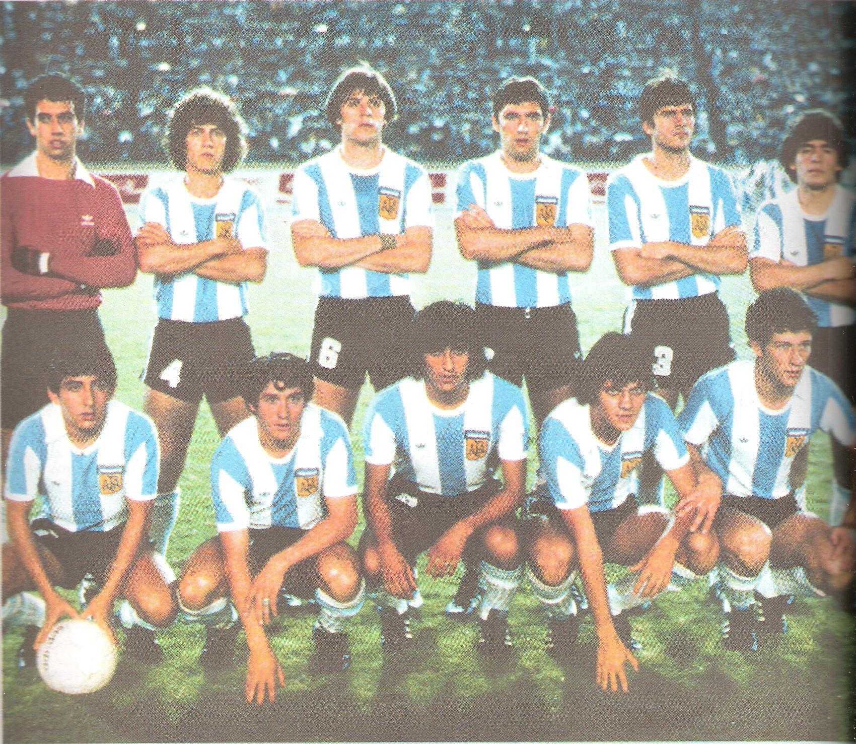 Argentina National team Under19, World Cup Japan 1979