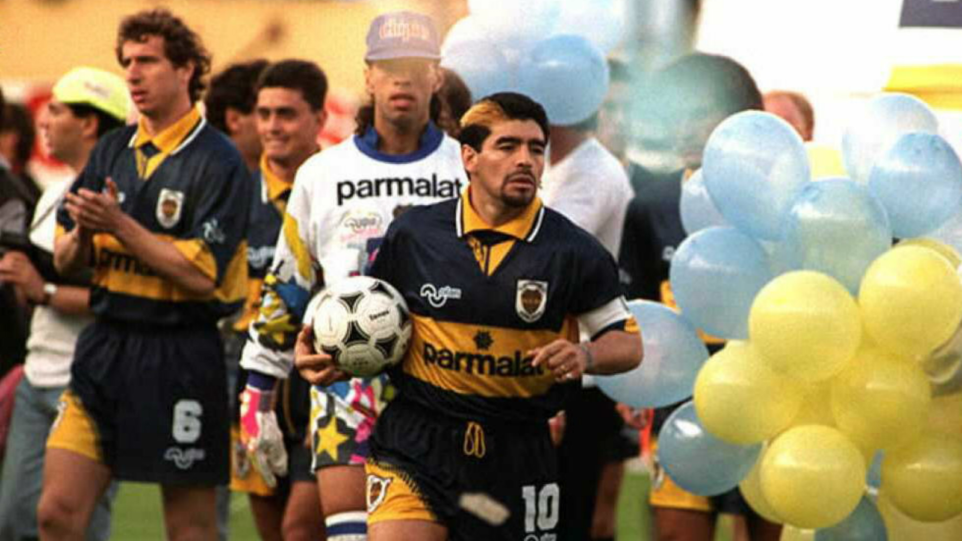 Return to Boca Juniors, 1995