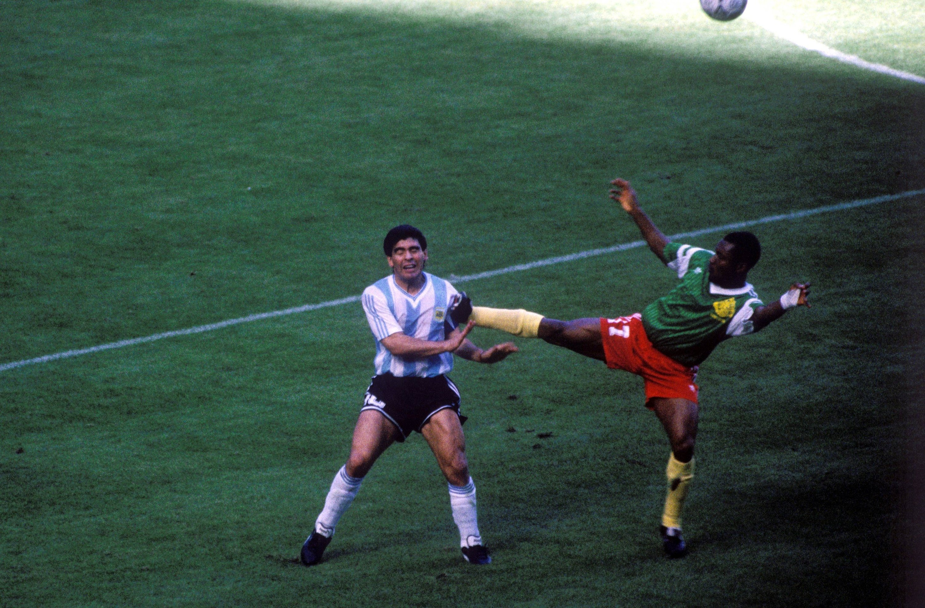 Vs. Cameroon, WC 1990