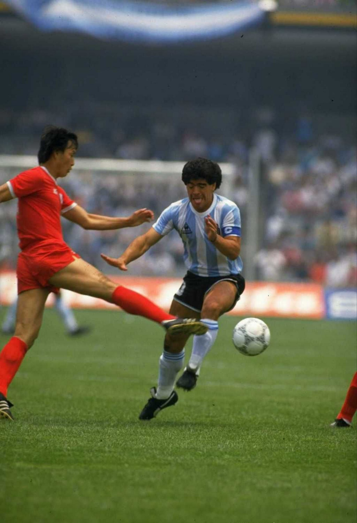 Vs South Korea, WC 1986