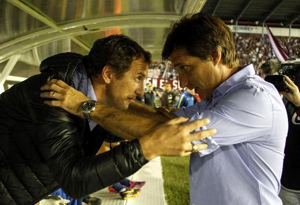 Rodolfo Arruabarena and Guillermo Barros Schelotto